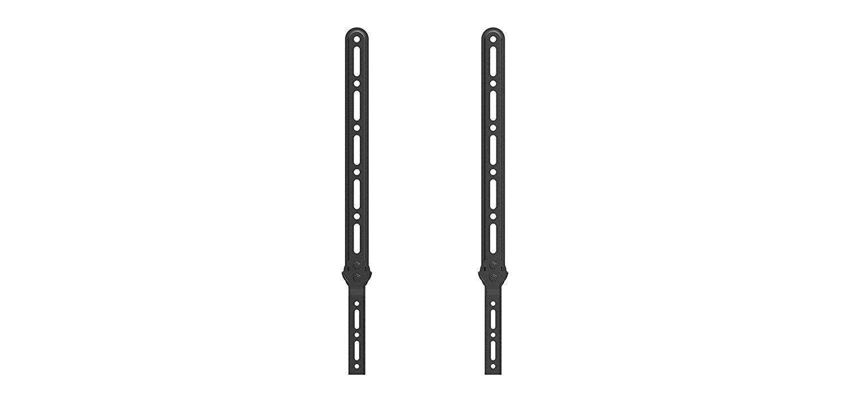 QualGear® Durable Universal Sound Bar Bracket for Sound Bars upto 15kg/33lbs, Black (QG-SB-001-BLK)