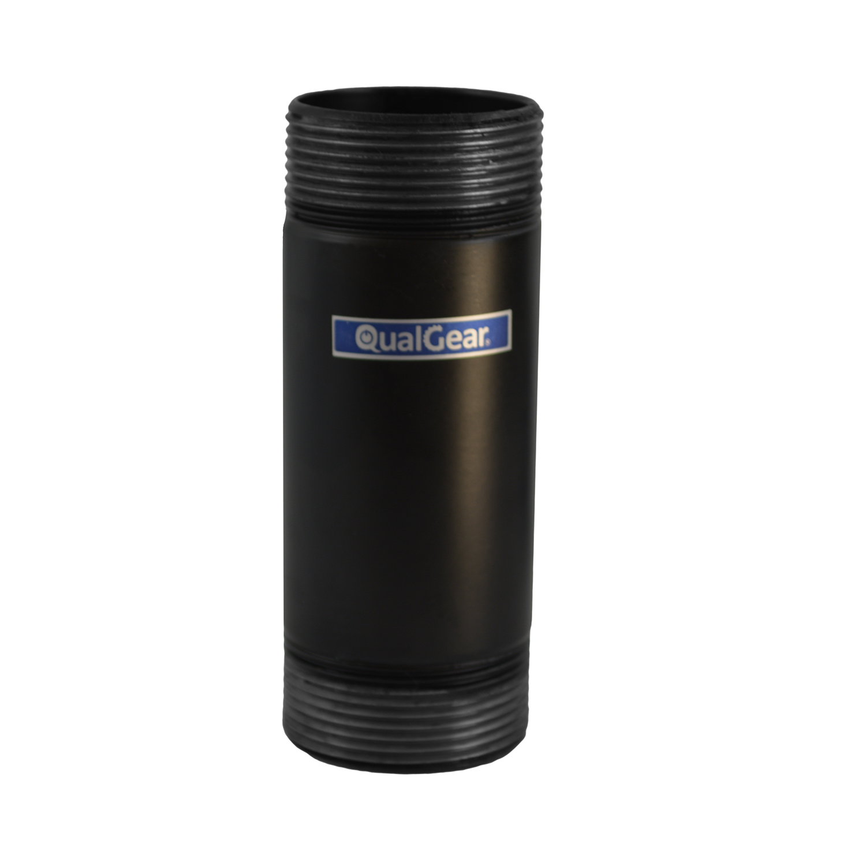 QualGear QG-PRO-PM-3IN-B Pro-AV 1.5 Inch Npt Threaded Pipe, 3 Inch Length Projector Accessory