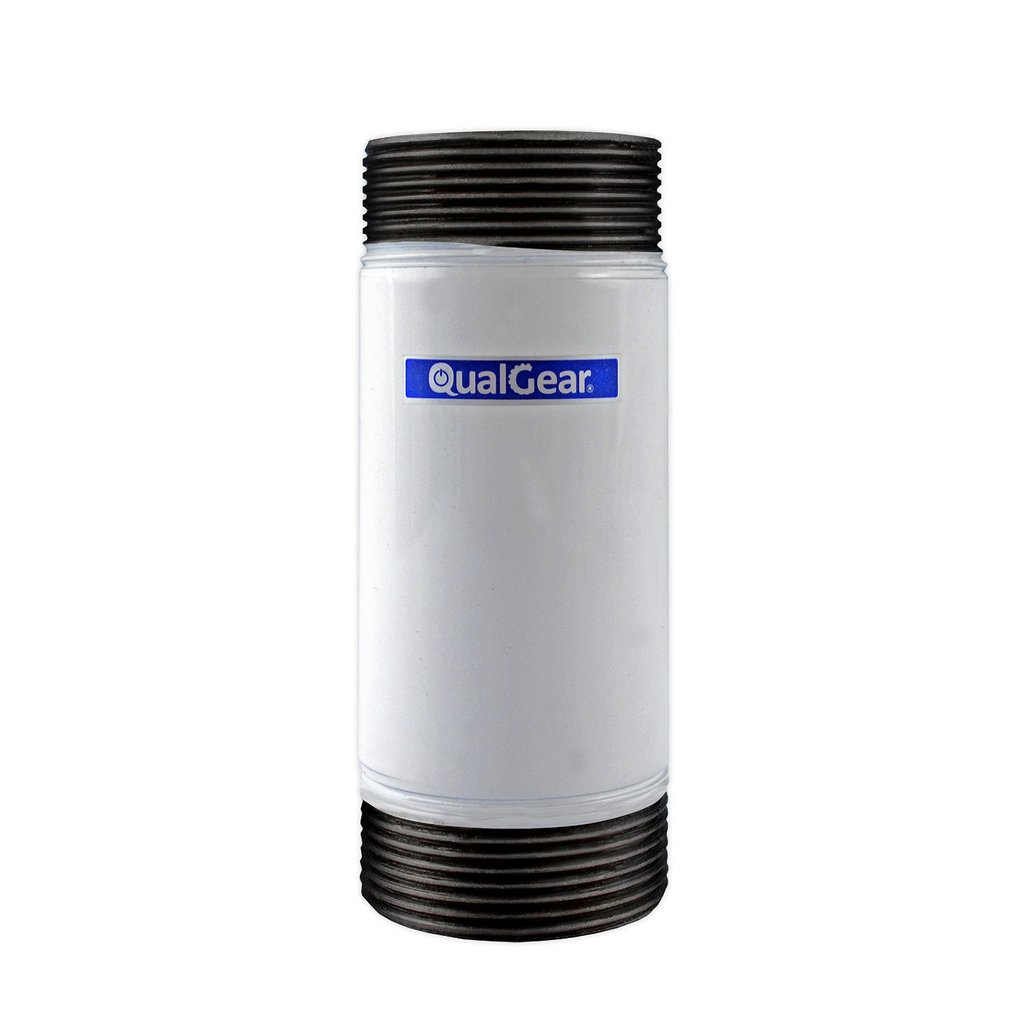 QualGear QG-PRO-PM-3IN-W Pro-AV 1.5 Inch Npt Threaded Pipe, 3 Inch Length Projector Accessory