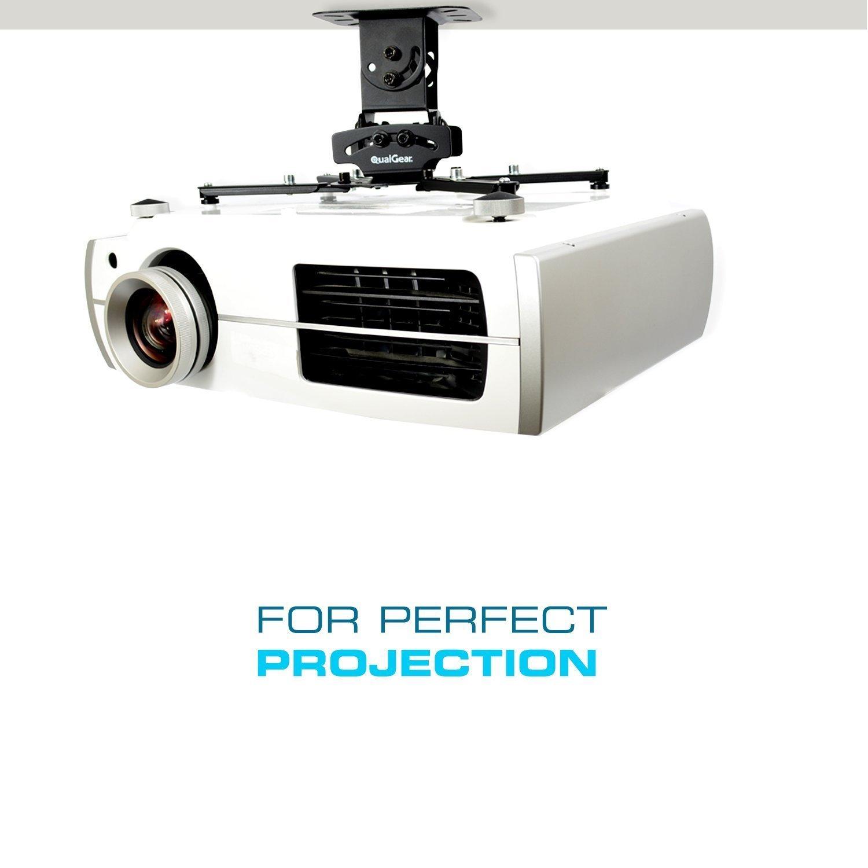 Qualgear Prb 717 Blk 50ft Projector Ceiling Mount Bundle