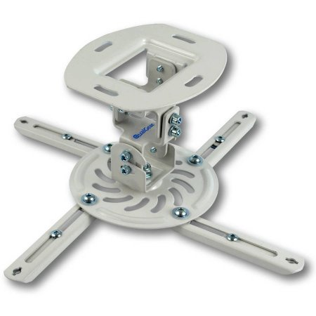 QualGear® QG-PM-002-WHT-S Projector Ceiling Mount Accessory