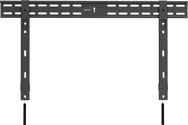 QualGear QG-TM-002-BLK Universal Ultra-Slim Low-Profile Fixed Wall Mount for 37'-70' TV's